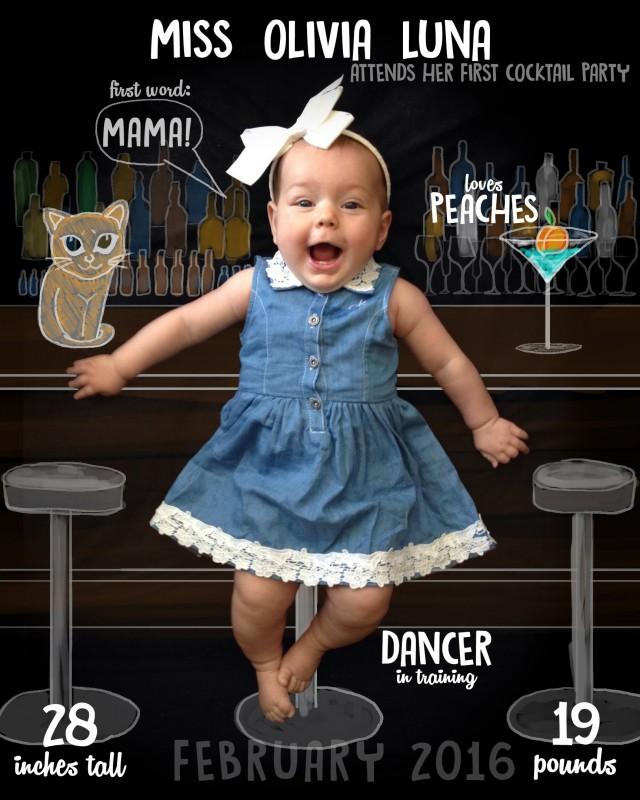 baby olivia 7